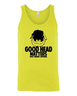 Good Head Matters - American Fuzzy Lop Adult Tank