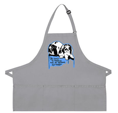 Mini Lop - Message Apron