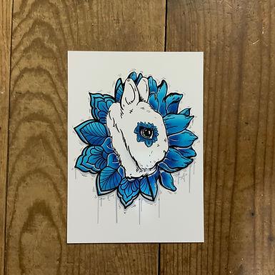 Bloom - Dwarf Hotot Art Print