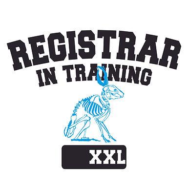 Registrar In Training Tee