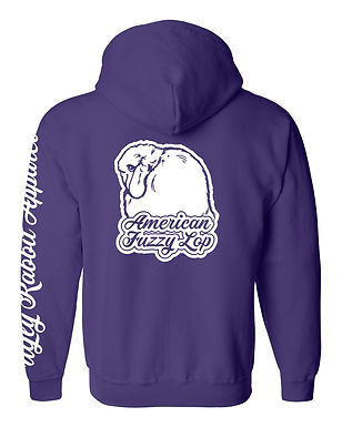 Dreamy - American Fuzzy Lop Adult Zip-Up Hoodie