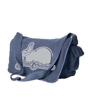 Giant Chinchilla - Dreamy Messenger Bag