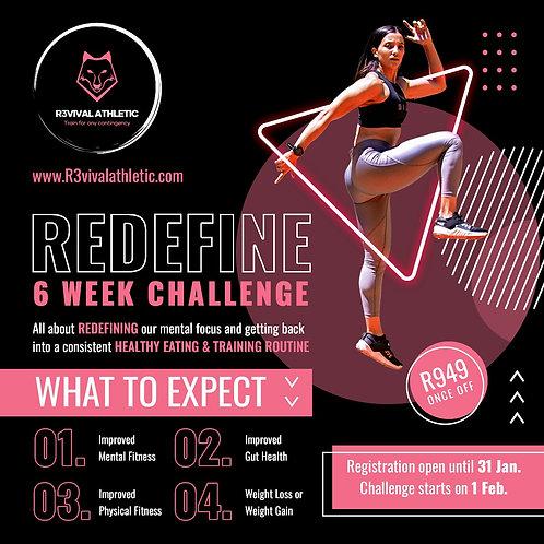 REDEFINE 6 week challenge