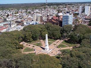 vista aerea (plaza Gral. Ramírez)