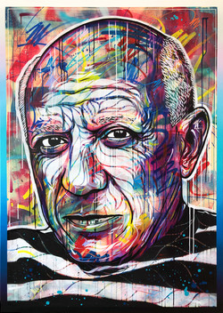 """""""Portrait of Pablo Picasso"""""""