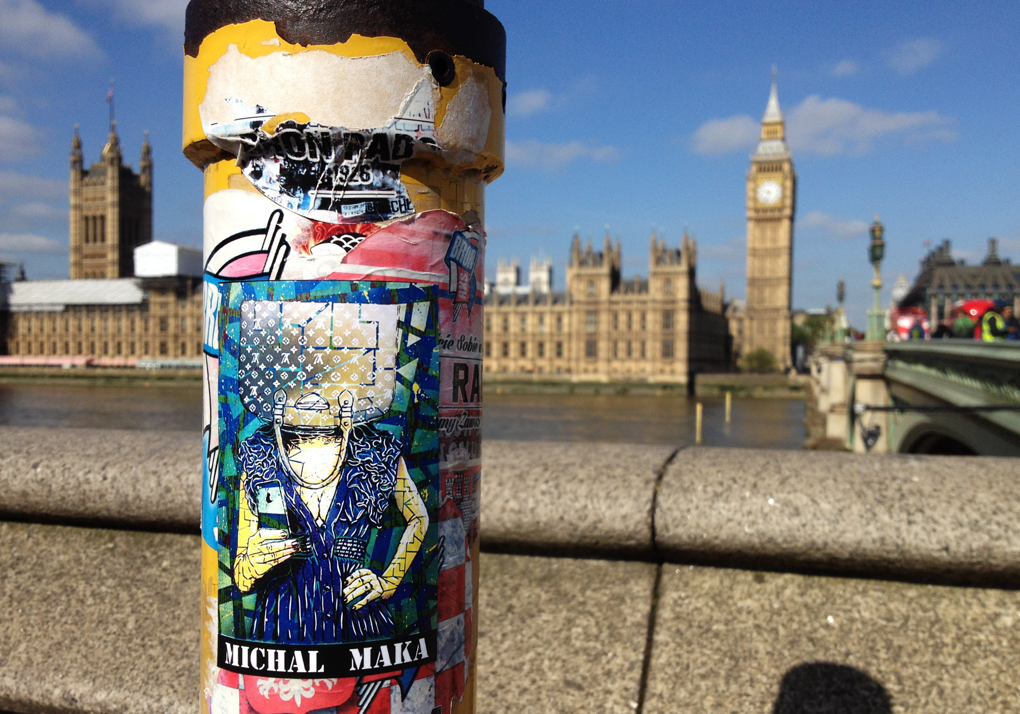 London 2015 - sticker