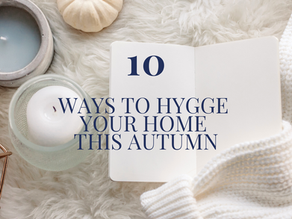 10 ways to hygge your home this autumn