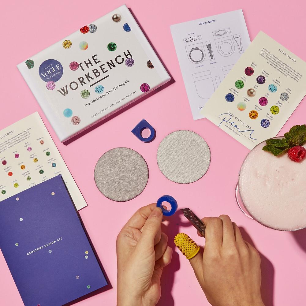 The Workbench London - Gemstones Ring Making Kit