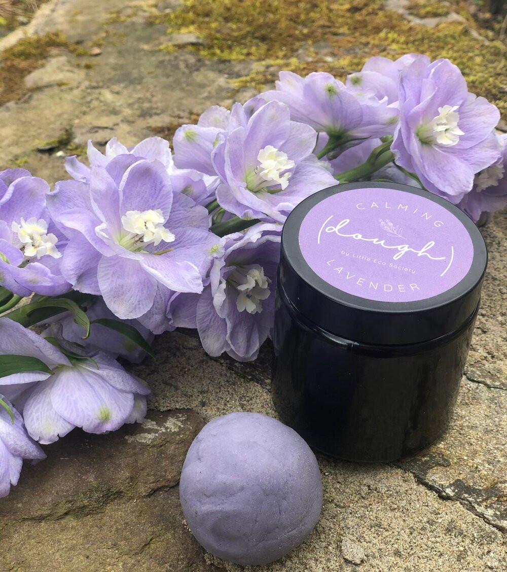Little Eco Eats Lavender Candle