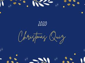 The Wonderfully British 2020 Christmas Quiz!
