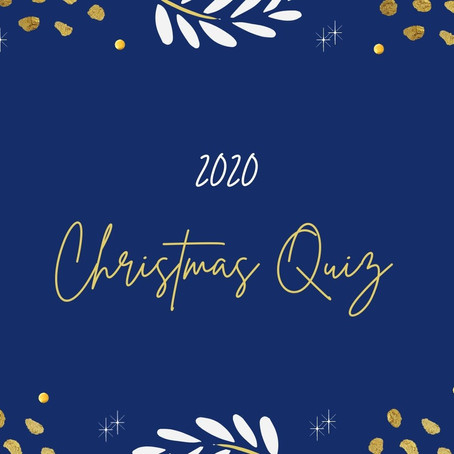 The Wonderfully British 2020 Christmas Quiz!