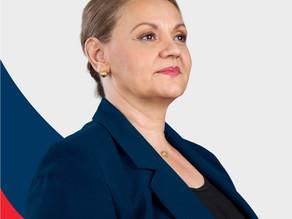 Lineth Saborío reafirma su intención de buscar la Presidencia del País