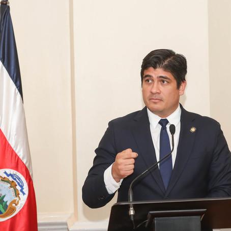 Alvarado señala prioridades del 2020: lucha contra desempleo y mejoras en infraestructura