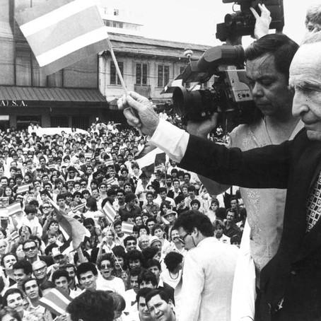 Se agiganta paso para declarar a José Figueres Ferrer como Héroe de la Paz