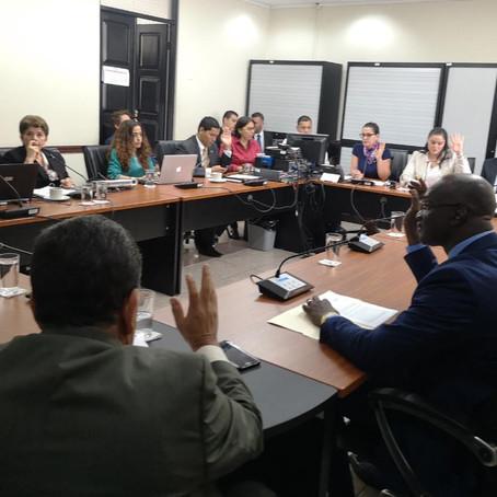 Hacendarios recomienda aprobar informe negativo sobre liquidación presupuestaria