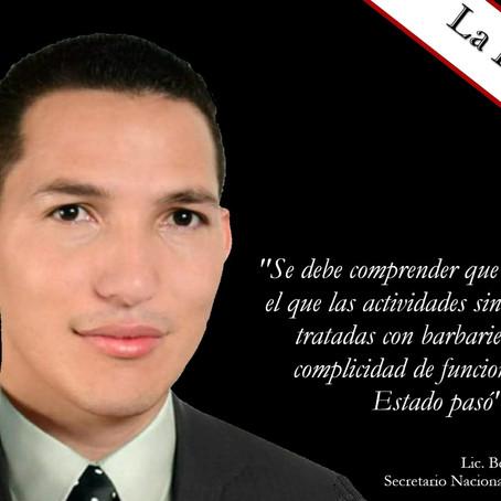 La detención de Albino Vargas