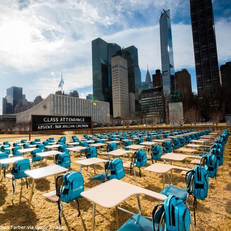 Escuelas de más de 168 millones de niños en el mundo llevan casi un año cerradas por la COVID-19