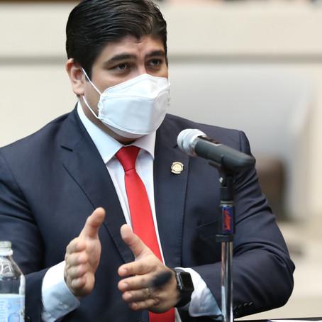 #ComparecenciaPresidencial: Alvarado no tiene idea donde están datos recolectados por UPAD