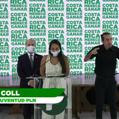 """Daniela Coll: """"Por un movimiento de juventud inclusivo, seguro, activo y trabajador"""""""