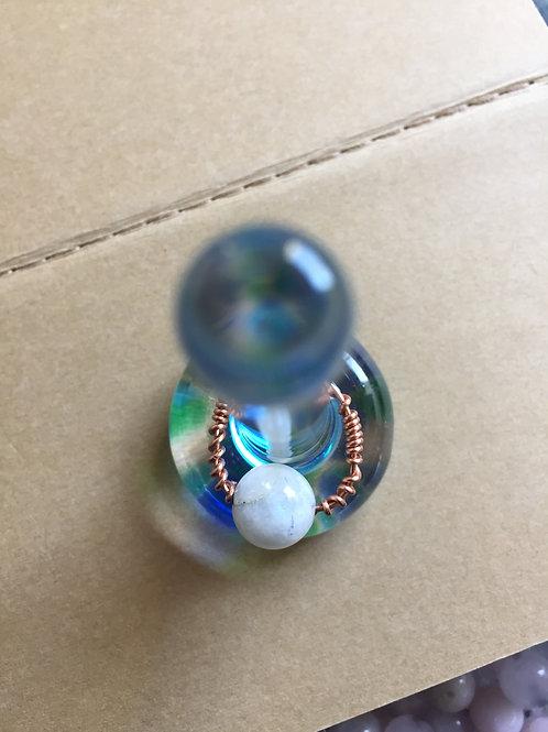 Moonstone Crystal Ring