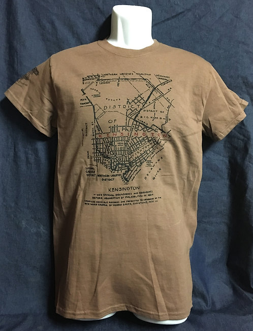 Historic Kensington Map Tee