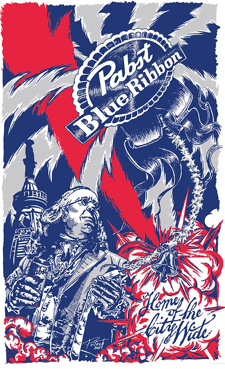 PBR Can Poster