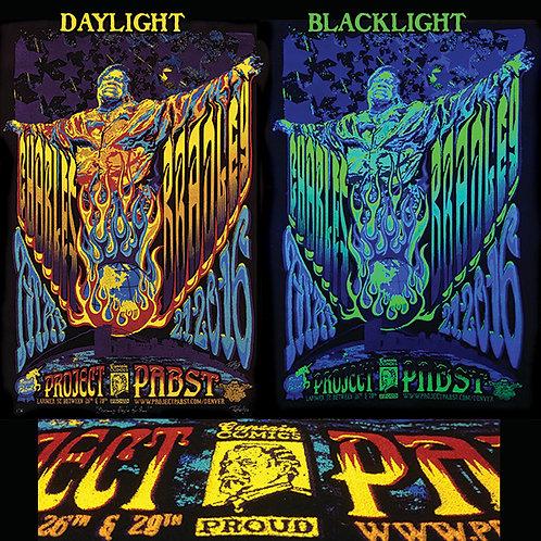 Charles Bradley Day-Glo Black Velvet Gig Poster