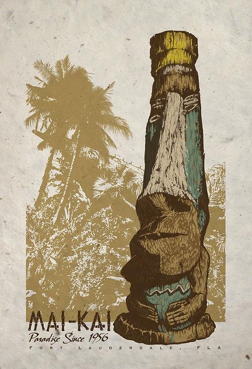 Mai Kai Screen Printed Poster