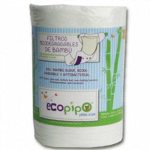 Kompostierbare Bambusstreifen / Compostable Bamboo Liners