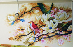 Indoor graphic painting