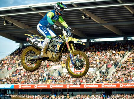 Suzuki's Chad Reed Tops Monster Energy S-X Open Auckland