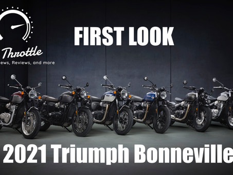 Triumph's Lighter and More Powerful 2021 Modern Classic Range Revealed