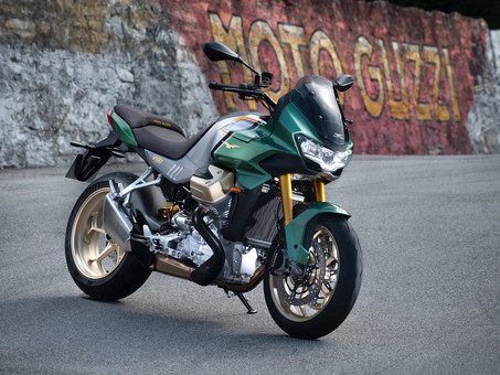 Moto Guzzi Gives First Look At V100 Mandello