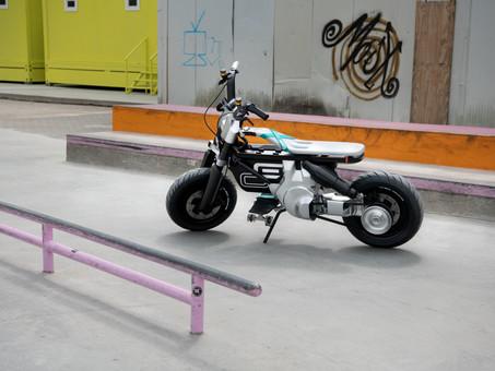 BMW Debuts Electric CE 02 Concept Bike