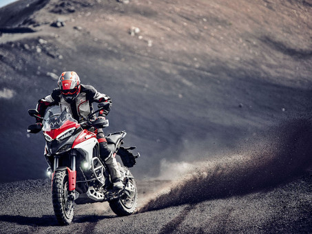 Ducati's 2021 Multistrada V4 is a High Tech Spaceship