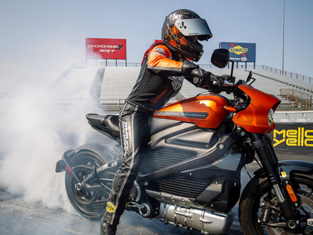 Harley-Davidson LiveWire Nabs EV Motorcycle World Records On The Drag Strip