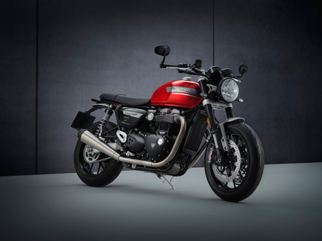 Updated Triumph Speed Twin Adds Extra Handling Prowess And More