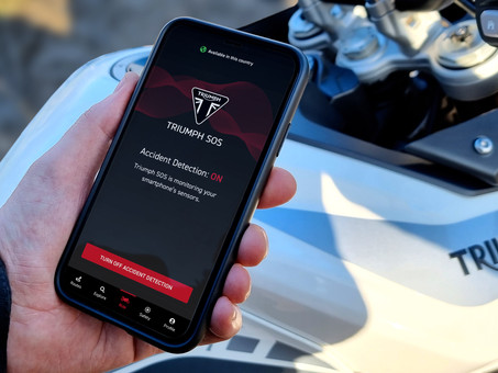 Triumph Motorcycles Launches SOS Smartphone App For All Motorcyclists