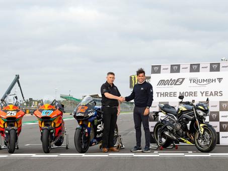 Triumph Set To Supply Moto2 Engines Until 2024