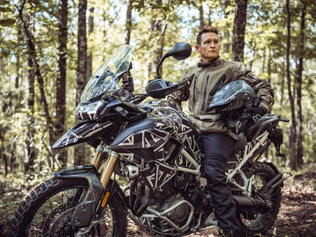 The GOAT and The TIGER: Ricky Carmichael Shreds on Triumph's New Tiger 1200