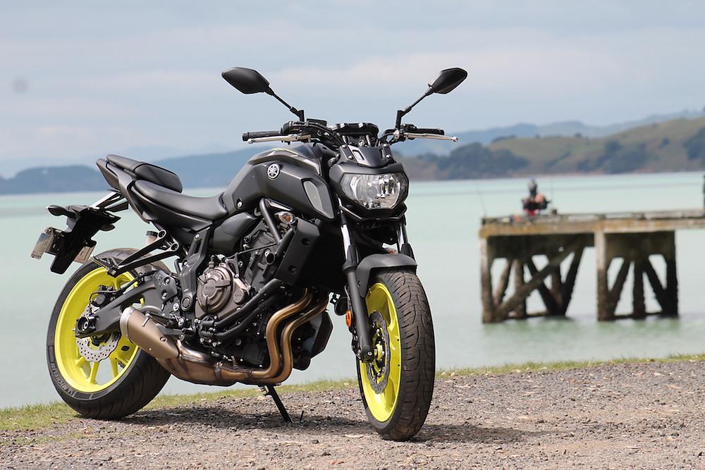 Yamaha MT07LA