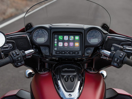 Indian Motorcycle Integrates Apple CarPlay To Select Motorcycles