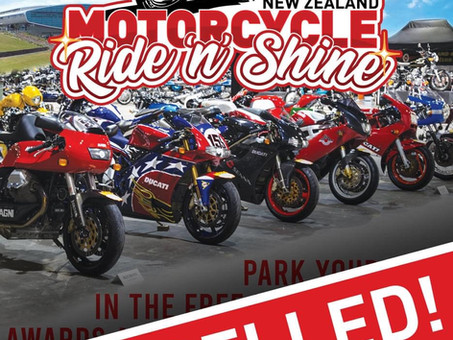 Auckland Shiny Side Up Bike Fest 2021 Cancelled