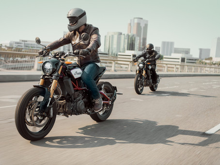 Indian FTR1200 Touches Down in NZ