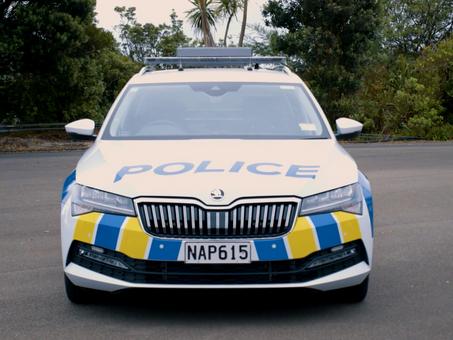 New NZ Cop Car Hits The Road
