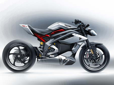 Triumph Motorcycles Debuts Electric TE-1 Concept