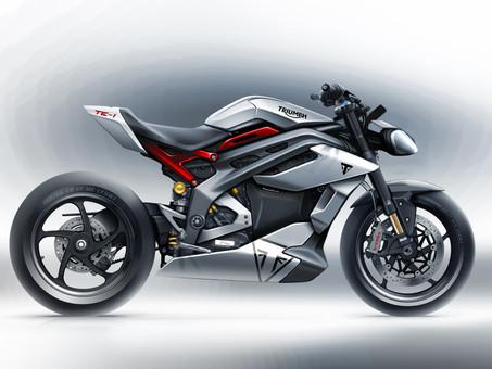 Triumph Motorcycles Debuts Electric TE-1 Concept