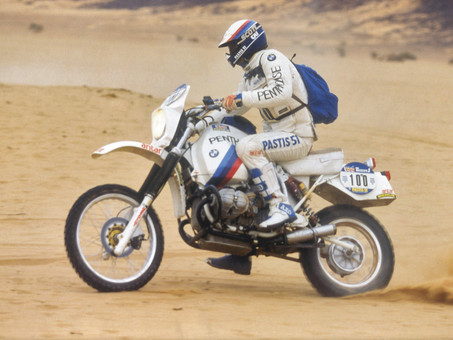 BMW GS Hero and Dakar Legend, Hubert Auriol, Passes away