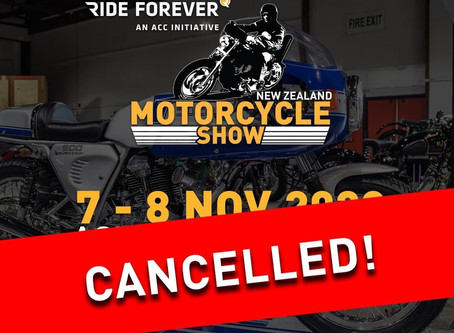 2020 New Zealand Motorcycle Show Cancelled