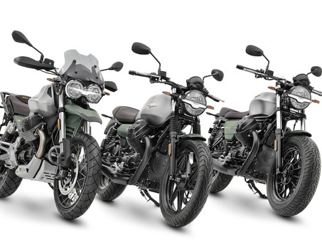 Moto Guzzi Centenary Models On The Way To New Zealand